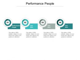 Performance People Ppt Slides Graphics Cpb