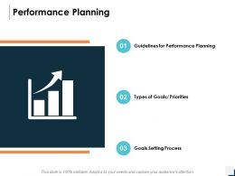 Performance Planning Goals Setting Process Ppt Powerpoint Presentation Icon Inspiration
