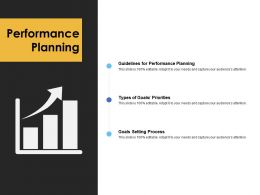 Performance Planning Growth Ppt Powerpoint Presentation File Pictures