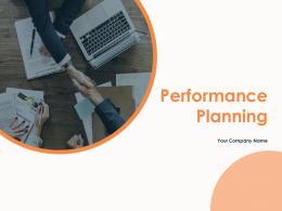 Performance Planning Powerpoint Presentation Slides