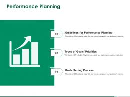 Performance Planning Process Ppt Powerpoint Presentation Layouts Layout Ideas