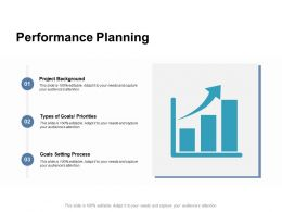 Performance Planning Project Background Ppt Powerpoint Presentation Demonstration