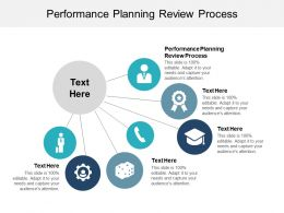 Performance Planning Review Process Ppt Powerpoint Presentation Inspiration Graphics Cpb
