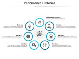 Performance Problems Ppt Powerpoint Presentation Slides Demonstration Cpb