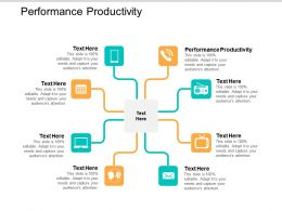 Performance Productivity Ppt Powerpoint Presentation File Graphics Design Cpb