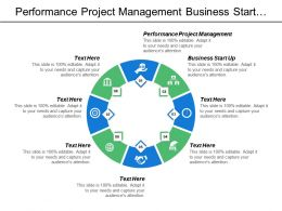 Performance Project Management Business Start Up Target Marketing