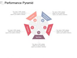 Performance Pyramid Ppt Powerpoint Presentation File Slideshow Cpb