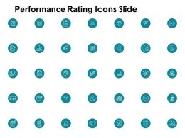 Performance Rating Icons Slide Plan H5 Ppt Powerpoint Presentation Pictures Elements