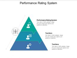 Performance Rating System Ppt Powerpoint Presentation Visual Aids Icon Cpb