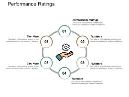 Performance Ratings Ppt Powerpoint Presentation Gallery Graphics Template Cpb