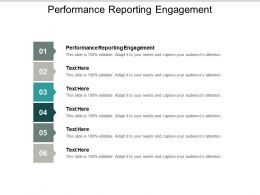 Performance Reporting Engagement Ppt Powerpoint Presentation Ideas Rules Cpb