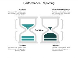 Performance Reporting Ppt Powerpoint Presentation Gallery Good Cpb