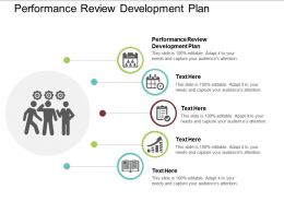 Performance Review Development Plan Ppt Powerpoint Presentation Infographic Cpb