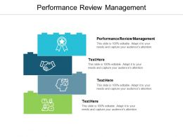 Performance Review Management Ppt Powerpoint Presentation Styles Influencers Cpb