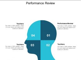 Performance Review Ppt Powerpoint Presentation Icon Example Cpb