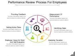 Performance Review Process For Employees Ppt Slide