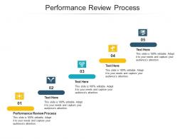 Performance Review Process Ppt Powerpoint Presentation Outline Sample Cpb