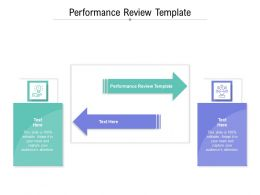 Performance Review Template Ppt Powerpoint Presentation Layouts Outfit Cpb