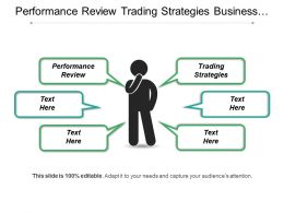 Performance Review Trading Strategies Business Procurement Content Management Cpb