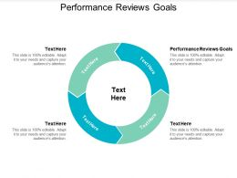 Performance Reviews Goals Ppt Powerpoint Presentation Gallery Backgrounds Cpb