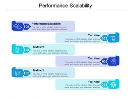 Performance Scalability Ppt Powerpoint Presentation Layouts Layout Ideas Cpb