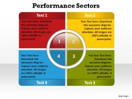 performance sectors ppt slides presentation diagrams templates powerpoint info graphics