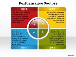 performance sectors ppt slides presentation diagrams templates powerpoint info graphics