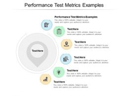 Performance Test Metrics Examples Ppt Powerpoint Presentation Slides Cpb