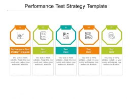 Performance Test Strategy Template Ppt Powerpoint Presentation Portfolio Background Designs Cpb