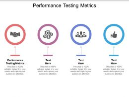 Performance Testing Metrics Ppt Powerpoint Presentation Outline Display Cpb