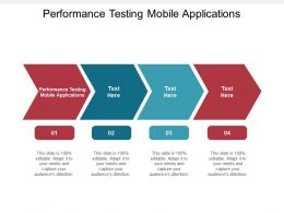 Performance Testing Mobile Applications Ppt Powerpoint Presentation Pictures Design Cpb