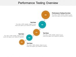 Performance Testing Overview Ppt Powerpoint Presentation Information Cpb