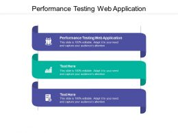 Performance Testing Web Application Ppt Powerpoint Presentation Professional Cpb