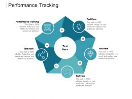 Performance Tracking Ppt Powerpoint Presentation Icon Sample Cpb