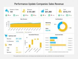 Performance Update Companies Sales Revenue