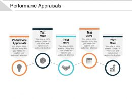 Performane Appraisals Ppt Powerpoint Presentation Gallery Icon Cpb