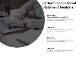Performing Financial Statement Analysis Ppt Powerpoint Presentation Icon Skills Cpb