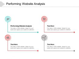 Performing Website Analysis Ppt Powerpoint Presentation Layouts Slide Portrait Cpb