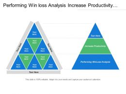 Performing Win loss Analysis Increase Productivity Eliminate Paperwork