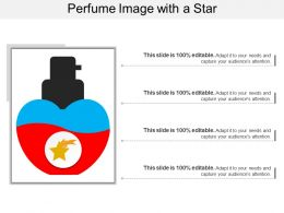 Perfume Image With A Star