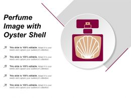 Perfume Image With Oyster Shell