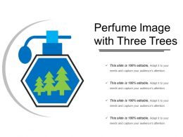 Perfume Image With Three Trees