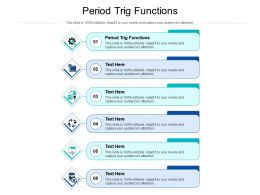 Period Trig Functions Ppt Powerpoint Presentation File Template Cpb