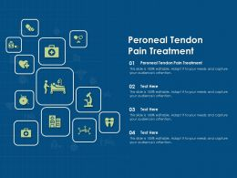 Peroneal Tendon Pain Treatment Ppt Powerpoint Presentation Outline Samples