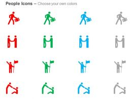 Person In Hurry Business Deal Winner Help Ppt Icons Graphics