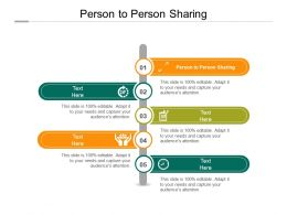 Person To Person Sharing Ppt Powerpoint Presentation Ideas Tips Cpb