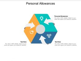 Personal Allowances Ppt Powerpoint Presentation Pictures Backgrounds Cpb