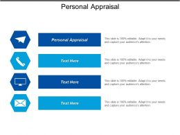 Personal Appraisal Ppt Powerpoint Presentation Icon Design Templates Cpb