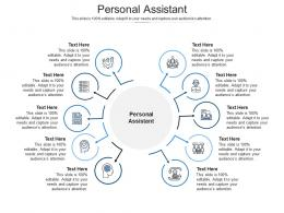 Personal Assistant Ppt Powerpoint Presentation Show Backgrounds Cpb