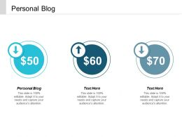 Personal Blog Ppt Powerpoint Presentation Styles Rules Cpb